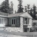 The house, circa 1949