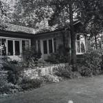 The house, circa 1970s